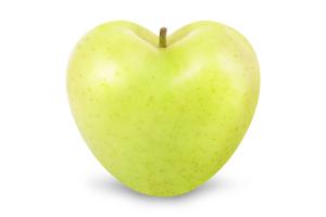 Яблоко Cubo Blanco сердце Голден