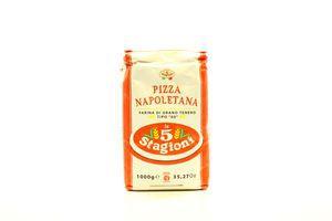 Мука пшеничная мягких сортов Pizza Napoletana Le 5 Stagioni м/у 1кг