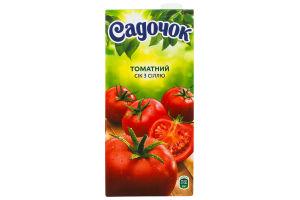 Сок томатный с солью Садочок т/п 0.95л