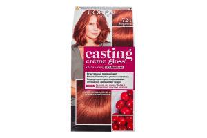 Краска-уход для волос Casting creme gloss №724 L'Oreal Paris 1шт
