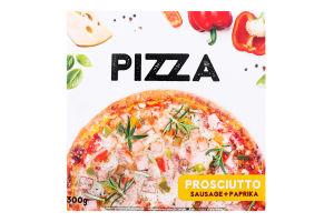 Піца заморожена Sausage+Paprika Prosciutto Vici к/у 300г
