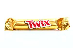 Печенье песочное с карамелью в молочном шоколаде Twix 25г
