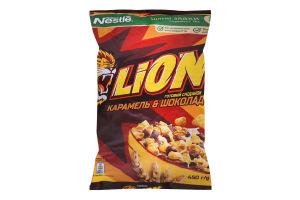 Сніданок готовий сухий Карамель&Шоколад Lion м/у 450г