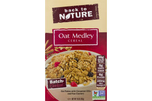 Back to Nature Cereal Oat Medley
