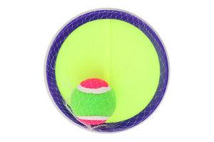 Набір ігровий для дітей від 3років на липучці №29018 Спіймай м'яч Shantou Yisheng Trading 1шт