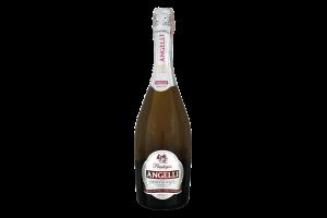 Вино игристое 0.75л 10-13.5% белое мускатное сладкое Moscato Dolce Angelli КЗШВ бут