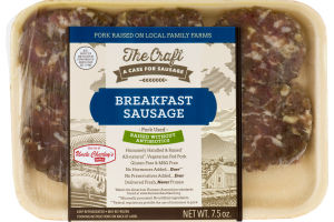 Uncle Charley's Sausage Co. The Craft Breakfast Sausage Patties