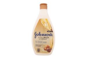 Гель для душа с маслами миндаля и ши Питательный Vita-Rich Johnson's 400мл