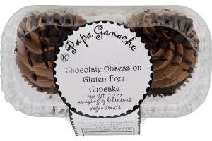 Papa Ganache Gluten Free Cupcake Chocolate Obsession