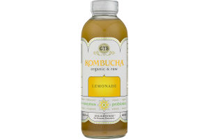 GT's Kombucha Organic & Raw Lemonade