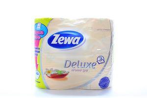Бумага туалетная 3-х слойная Арома SPA Deluxe Zewa 4шт