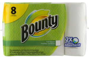 Bounty Paper Towels - 8 CT