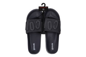 Тапочки открытые пляжные мужские Gemelli Айкон 2 №370806 41-46 черный