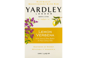 Yardley London Naturally Moisturizing Bath Bar Lemon Verbena