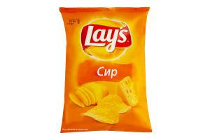 Чипсы картофельные со вкусом сыра Lays м/у 133г