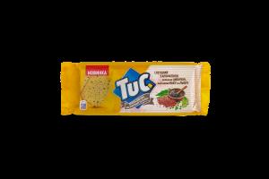 Крекер Tuc солоний з зеленою цибулею насіння маку льону 105г х24