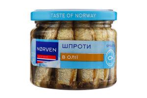 Шпроти в олії Norven с/б 300г