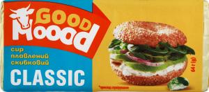 Сир плавлений 45% скибковий Classic Good Moood м/у 64г