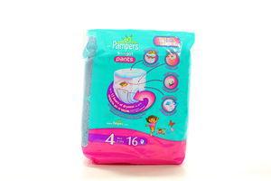 Підгузки Pampers Active Girl Pants maxi 4 9-14кг 16шт