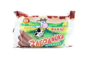 Вафли Забодайка шоколад ХБФ м/у 80г