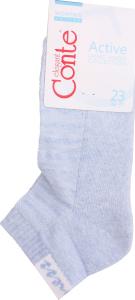 Шкарпетки жіночі Conte Active №16С-92СП 23 світло-блакитний