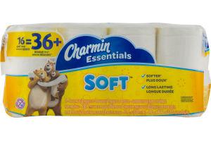Charmin Essentials Soft Bathroom Tissue Giant Rolls - 16 CT