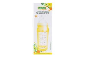 Пляшечка для годування скляна 220мл №1290 Superior Baby Team 1шт