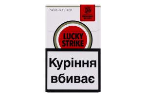 Сигареты с фильтром Original Red Lucky Strike 20шт