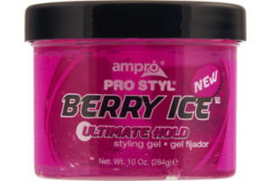 Ampro Pro Styl Berry Ice Ultimate Hold Styling Gel