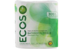ECOS Bathroom Tissue Fragrance Free - 4 PK