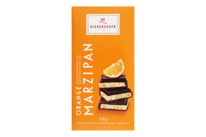 Шоколад Orange marzipan Niederegger к/у 110г