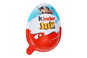 Яйце шоколадне з іграшкою Infinimix Joy Kinder п/у 20г