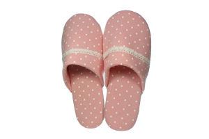 Тапочки комнатные женские Twins Горох розовый 36/37; 38/39; 40
