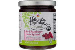 Nature's Promise Fruit Spread Red Raspberry