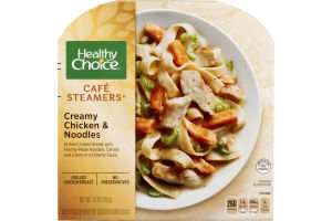 Healthy Choice Cafe Steamers Creamy Chicken & Noodles