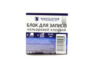 Блок паперу Navigator для записів 85*85мм 400арк 75007-NV
