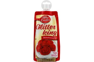 Betty Crocker Glitter Icing Shimmering Red