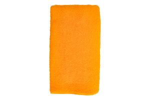 Полотенце махровое желтое 70х140см Баркас-Текс 1шт