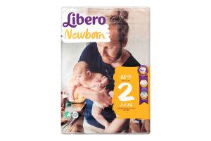 Підгузки для дітей 3-6кг Newborn 2 Libero 88шт