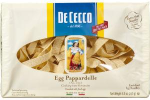 De Cecco Egg Pappardelle Enriched Egg Noodles
