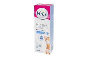 Крем для депиляции для чувствительной кожи Minima Veet 100мл