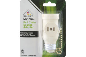 Smart Living Pull Chain Socket Adapter
