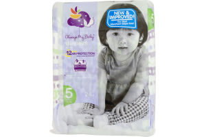 Always My Baby Diapers Size 5 (27+ lbs) - 24 CT