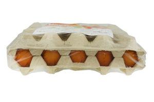 Яйця курячі Діброва Агро Крутиші вища категорія 20шт *12