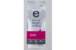 Ethical Bean Coffee Whole Bean Arabica Coffee Bold Dark Roast