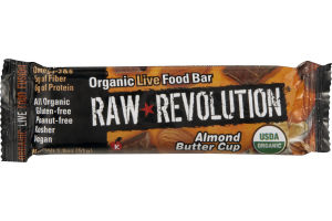 Raw Revolution Organic Live Food Bar Almond Butter Cup