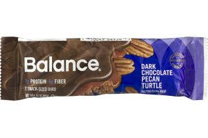 Balance Dark Chocolate Pecan Turtle Nutrition Bar - 2 CT
