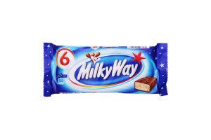 Батончик з суфле, вкритий молочним шоколадом Milky Way м/у 6х21.5г