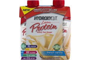 Hydroxycut Lean Protein Shakes French Vanilla - 4 PK
