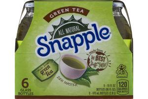 Snapple All Natural Green Tea - 6 PK